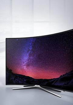 SAMSUNG UE55K6379 LED TV (Curved, 55 Zoll, Full-HD, SMART TV) Halb Preis