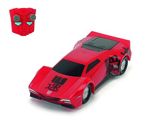 AMAZON PRIME - Dickie Toys 203114001 - RC Turbo Racer Sideswipe, funkferngesteuertes Transformers Fahrzeug, 18 cm