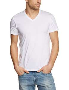 [AMAZON] ESPRIT Herren T-Shirt BASIC - Slim Fit, V-Neck, weiß - 5,49 Euro