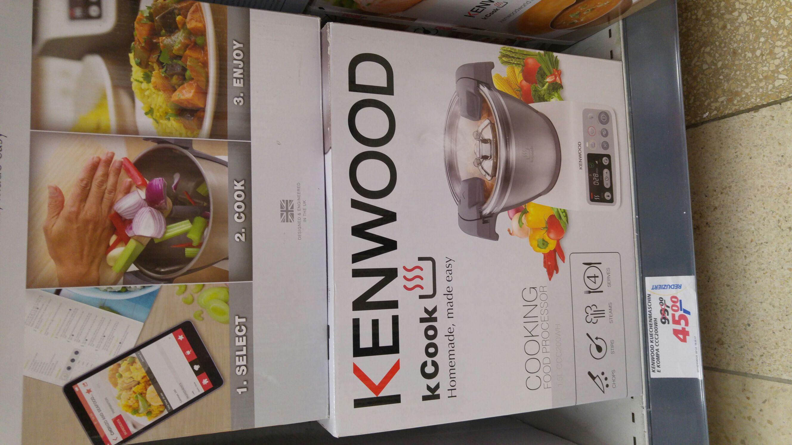 (real,- offline) Kenwood kCook Kompaktküchenmaschine CCC200WH