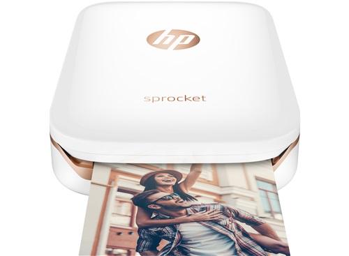 HP Sprocket Fotodrucker (weiß oder schwarz) inkl. 10 Blatt HP ZINK Fotopapier für 99€ im HP Education Store