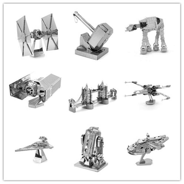 AliExpress 3D Metall Puzzle für 1,99