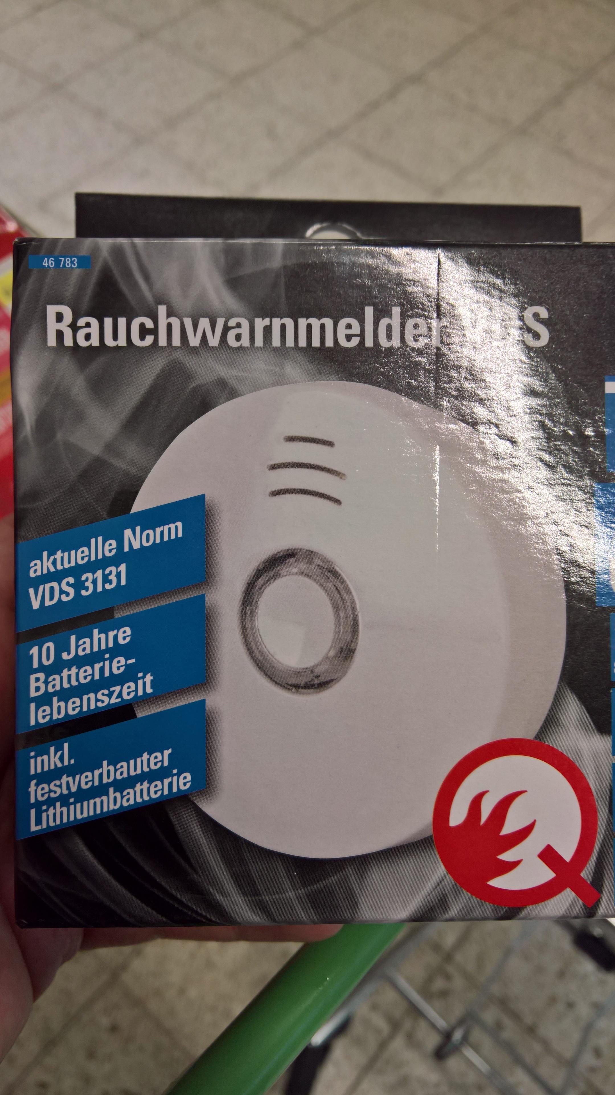 Unitec Eim 207 - 10-Jahres-Rauchmelder - Lokal (Globus Losheim)