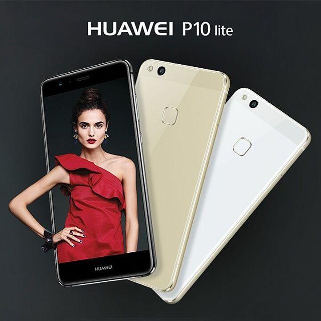 Huawei P10 lite -- Android 7.0 Nougat, 5.2 Zoll FullHD Display, Octa-Core Prozessor, Fingerabdrucksensor, NFC