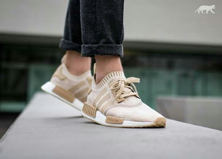 [zalando] Adidas NMD R1 PK cw linen khaki/offwhite oder Oreo (white/core black)
