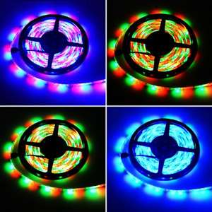 [Gearbest] 2x  - HML 5M Waterproof RGB LED Strip Light  -  RGB COLOR für nur 9,12€ im Flash Sale