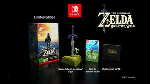 [Amazon] The Legend of Zelda: Breath of the Wild Limited Edition [Nintendo Switch] für 99,99€