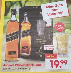 Johnnie Walker Black Label 0,7 Liter. Netto Marken Discount. Ab 22.05.