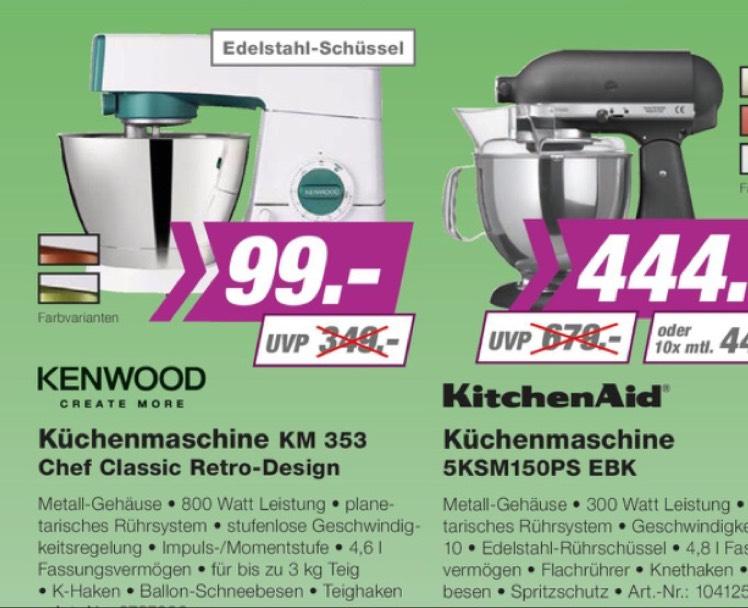 KENWOOD Küchenmaschine KM 353 bei EP ellica [Berlin]