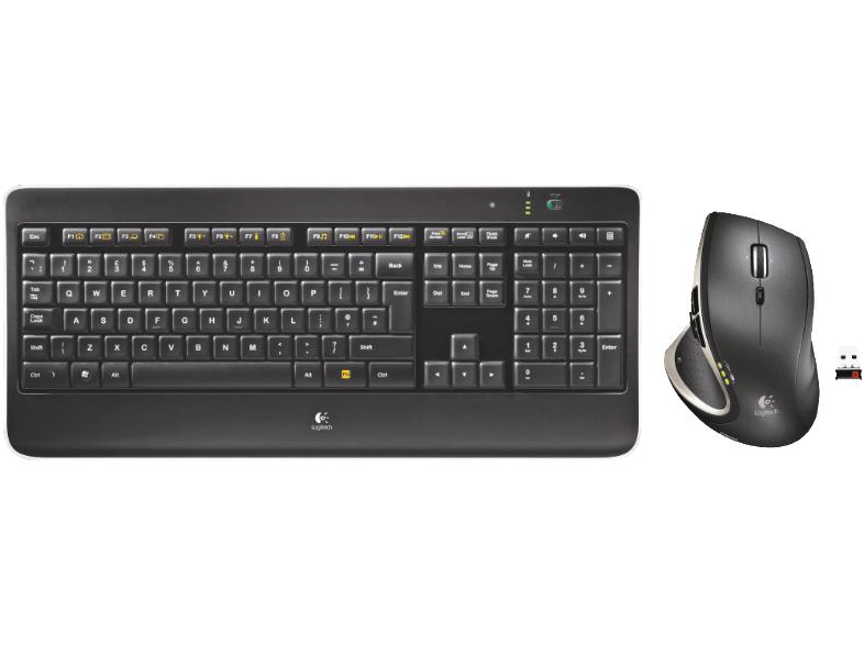 [Mediamarkt] Logitech Wireless Performance Combo MX800 Tastatur-Maus-Set kabellos Set für 79,-€ Versandkostenfrei