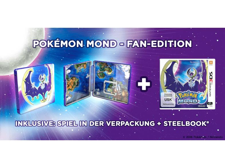 [MediaMarkt] Pokemon Mond Fan Edition (Nintendo 2/3DS) für 37€ bei Abholung im Markt