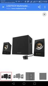 LOGITECH Z533 Multimedia Speaker System, weiß und schwarz  , media markt/amazon