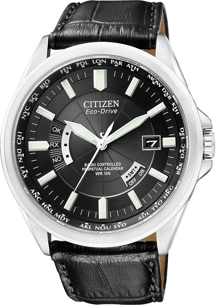 Citizen Herren-Armbanduhr Analog Quarz Funk Solar Saphirglas Edelstahl CB0010-02E für 149,50€ [Amazon]