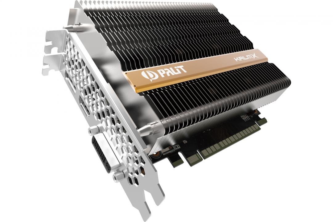[ 0% Finanzierung ] Palit GeForce GTX 1050 Ti KalmX 4GB  (Silent / Passiv gekühlt / 0db )
