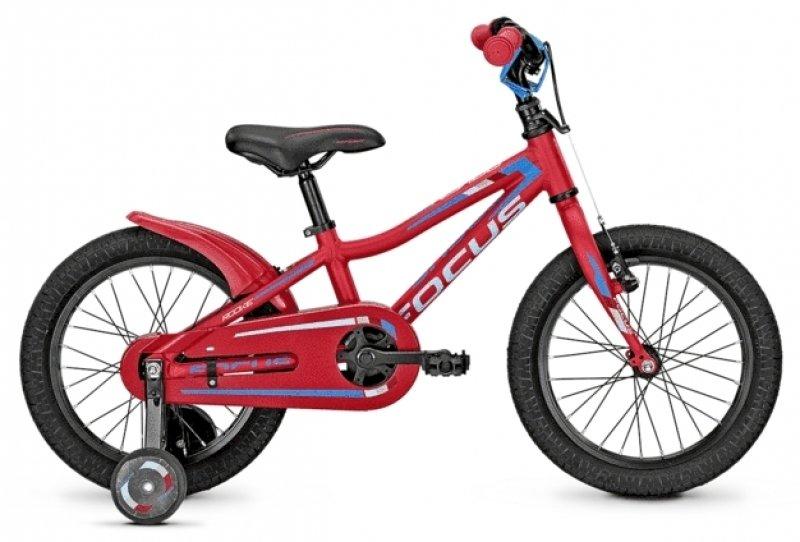 16 Zoll Kinderfahrrad mit Stützrädern (159€ statt 249€)