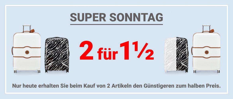 Koffer-Direkt 40% Rabatt beim Kauf von 2 (Rimowa, etc.)
