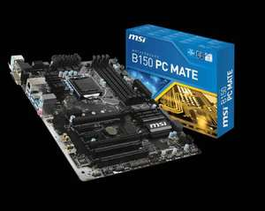 MSI B150 PC-Mate Intel 1151 Sockel Mainboard [Mindfactory/Mindstar]