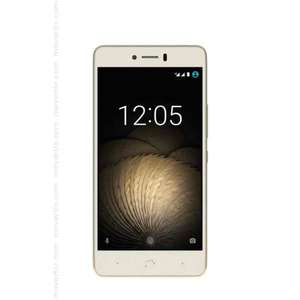 "[NBB] BQ Aquaris U 16GB 2GB RAM weiss/gold [12,7cm (5"") HD-Display, Android 6.0.1"