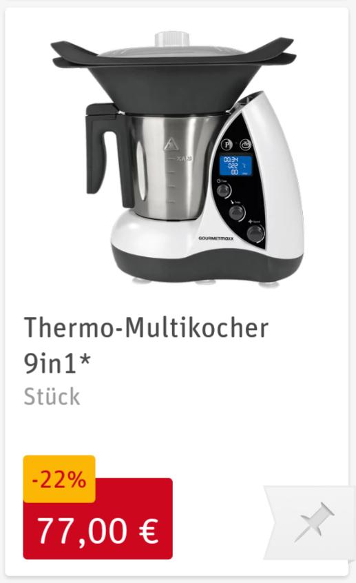 [Rewe Center Offline] Gourmetmaxx Thermo-Multikocher 9in1 9747