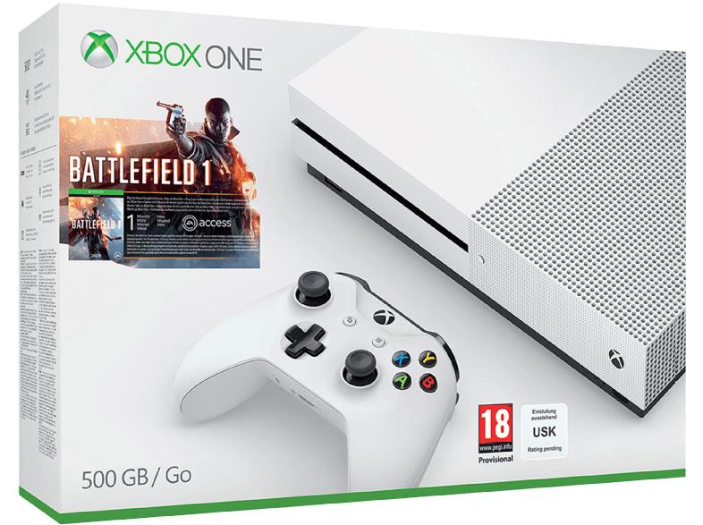 [Media Markt] 20% auf Xbox One S Bundles - 500GB Battlefield 1 oder FIFA für 223,20€