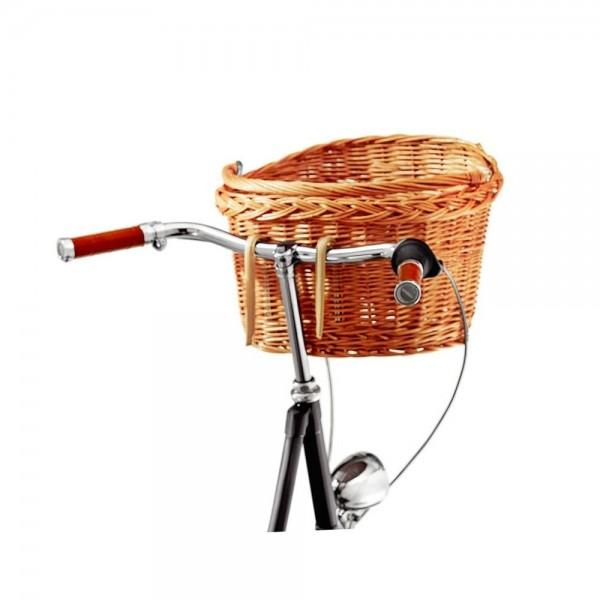 """Creme Cycles Fahrradkorb """"Holymoly"""" - Weidenkorb"""