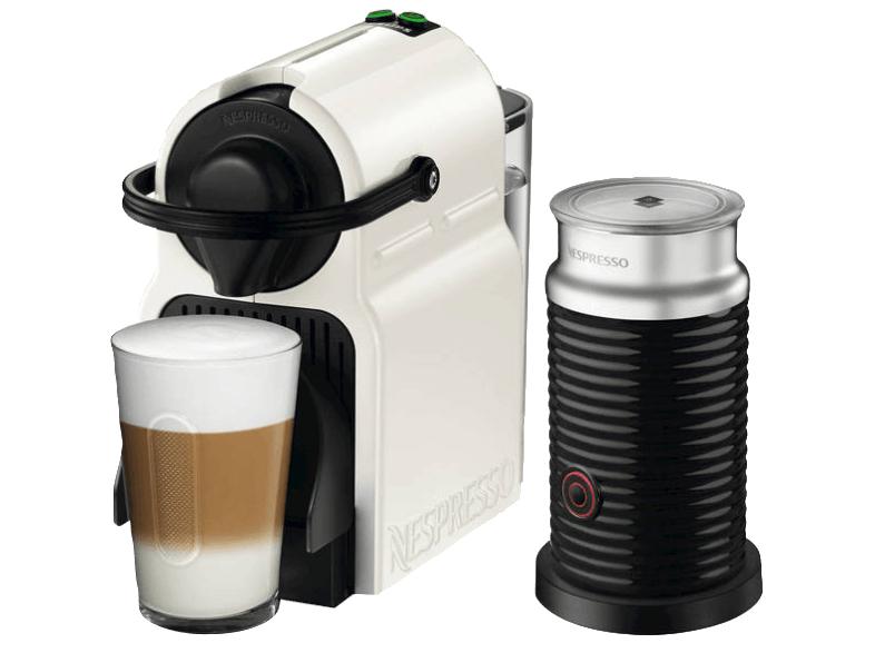 [MediaMarkt] KRUPS XN1011 Nespresso Inissia Kapselmaschine Weiß (mit Direktabzug von 20 € sowie inkl. 40 € Nespresso-Club-Guthaben)