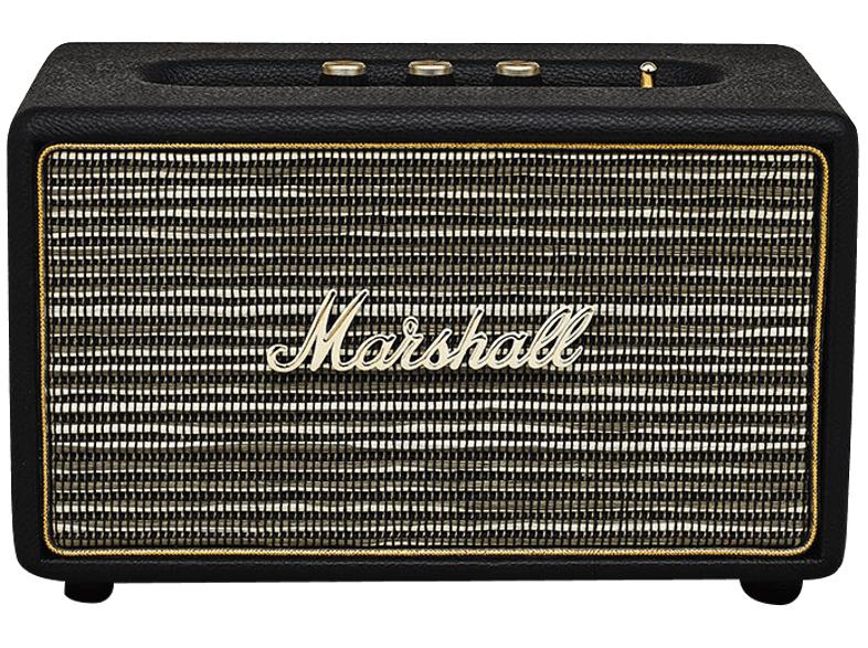 Marshall Acton BT Bluetooth Lautsprecher schwarz für 111,-€ **** Marshall Kilburn tragbarer Bluetooth Lautsprecher schwarz für 169,-€ [Mediamarkt Ebayshop)