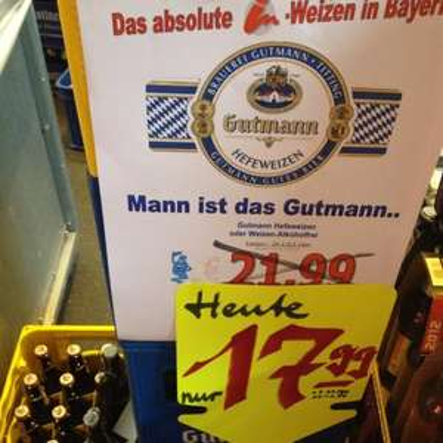 "[lokal-Hamburg-Osdorf ""GRAFF"" Getränkeladen = Gutmann Weizen"