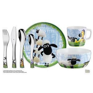 [eBay] WMF  Kinderbesteck-Set 7-teilig - Shaun das Schaf (Cromargan Edelstahl, rostfrei)