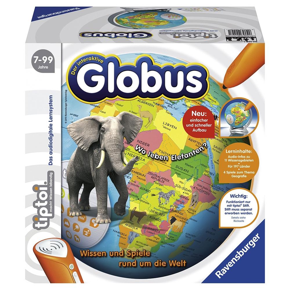 Ravensburger tiptoi - Der interaktive Globus für 24,99€ mit Click & Collect bei [ToysRUs] + weitere tiptoi Angebote