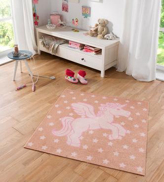 Teppiche fürs Kinderzimmer im Angebot bei [windeln.de] z.B. Zala Living Softverlours Einhorn Teppich für 44,85€
