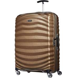 Samsonite Lite-Shock 4-Rad Trolley 81cm Gold 50 Euro unter idealo