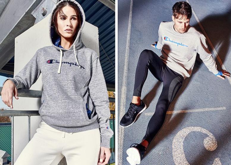 Großer Champion-Sale bei Vente Privée, z.B. Shorts für 13€, Shirts für 12€, Sweatjacken für 29€