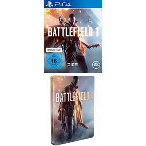 Battlefield 1 - Steelbook Edition (PS4/Xbox One) für 32€ (Amazon)