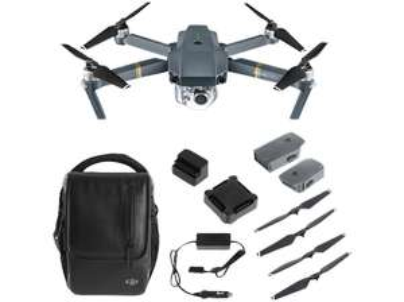 DJI Drohne Mavic Pro mit Zubehör Paket