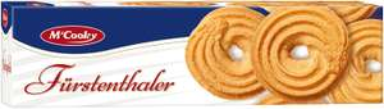 amazon Prime: M'Cooky Fürstenthaler Spritzgebäck, 18er Pack (18 x 400 g) --> 10,54  € statt 20,69 €  --> nur ca. 0,58 € pro Pack