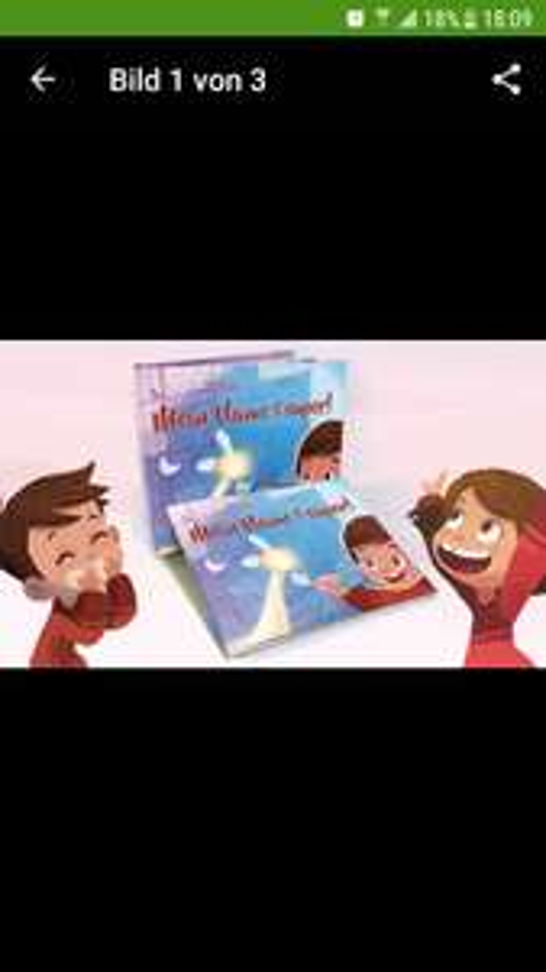 Personalisierbares Kinderbuch