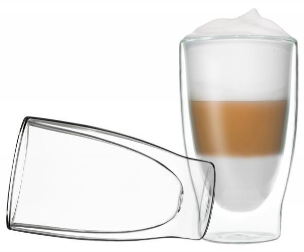 Doppelwandige Gläser für Milchkaffee/Cocktails etc.