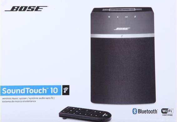 [Dealclub] Bose Streaming Lautsprecher SoundTouch® 10 wireless music system, schwarz für 154,99€ Versandkostenfrei