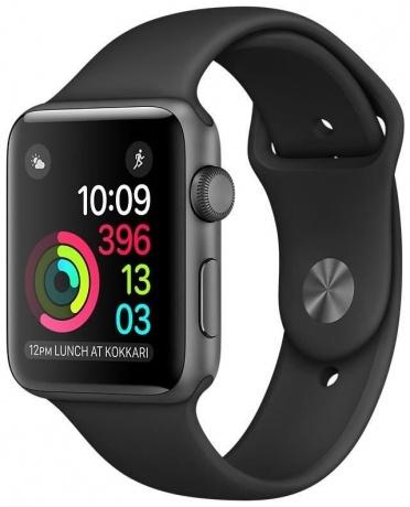 Apple Watch Series 2 42mm Aluminiumgehäuse Space Grau für 390,16€ (VGP: 436,05€)