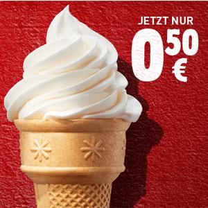[Burger King] Eiswaffel für 0,50€