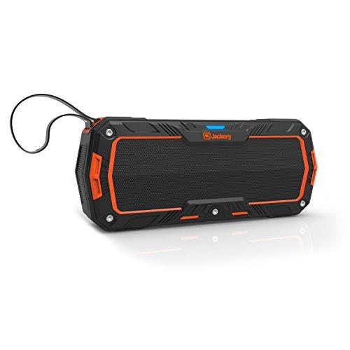 Amazon Angebot: Jackery Boom Bluetooth 4.1 Lautsprecher (IP65, Dual 5W, 2000 mAh Akku) für 17,99€