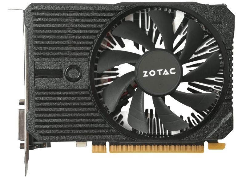 Zotac GeForce GTX 1050 ITX Edition 2GB GDDR5 Grafikkarte (DVI/HDMI/DP) - geeignet für Dell PowerEdge T20 [Media Markt /Amazon]