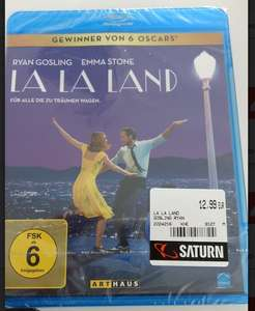 (lokal Köln Hansaring) La La Land (Blu-Ray) für €12,99