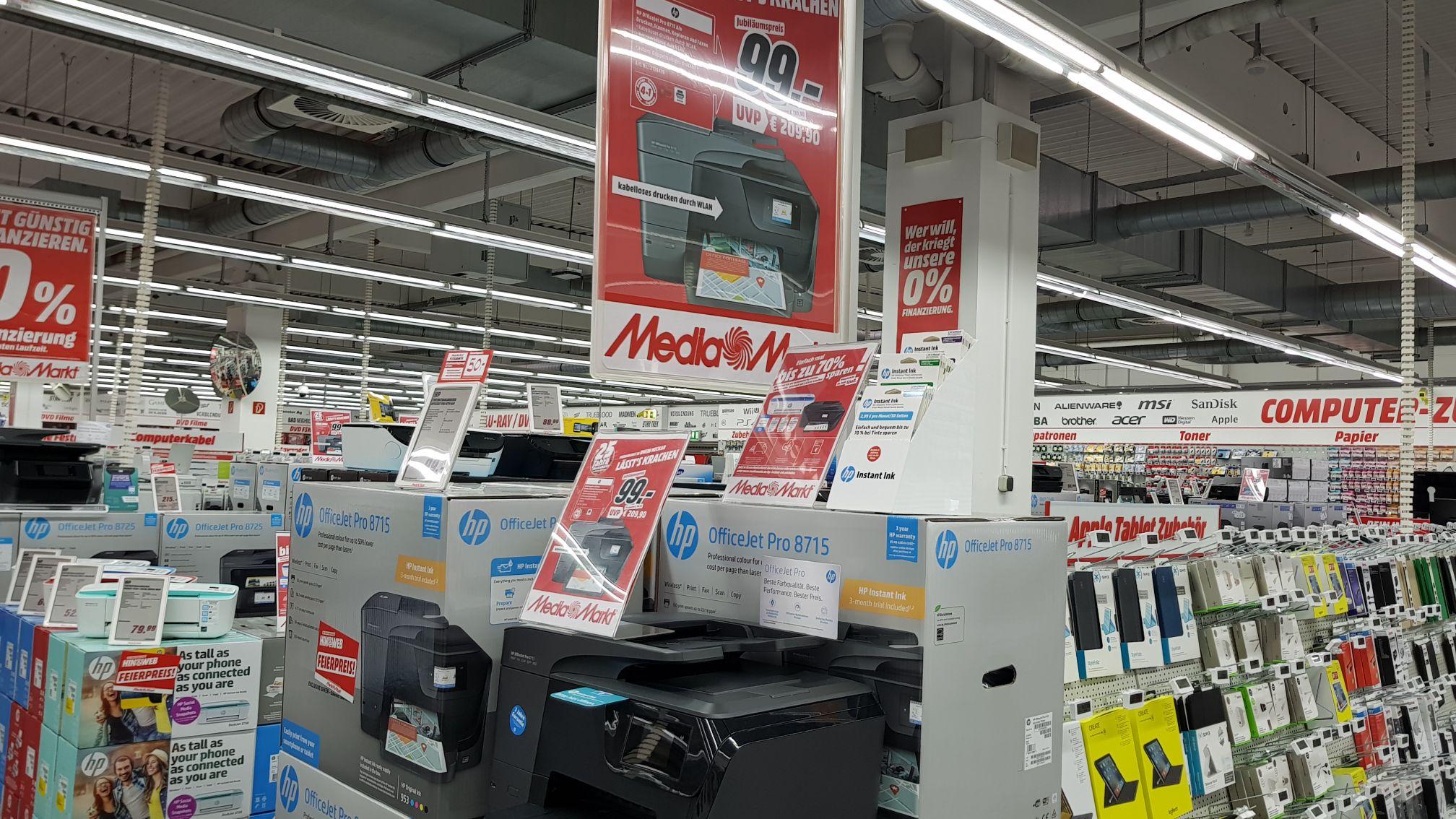 HP Officejet 8715 für 99€ bei Mediamarkt