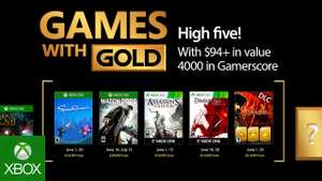 Xbox GwG - Juni 2017 - Watchdogs,Speedrunners, AC3, Dragon Age: Origins,Bonus DLC for Phantom Dust