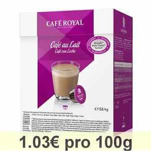 Nescafé Dolce Gusto kompatibel Café Royal Caffe Grande ab 10 Cent, Cappuccino und Latte Macchiato ab 20 Cent, Packung ab 1,60 € PVG Idealo 3,79 €