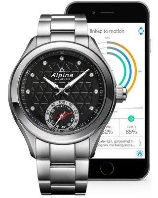 Luxus-Deal: Alpina AL-285BTD3C6B Horological Damen Smart Watch 500,00€ statt 1095,00 €