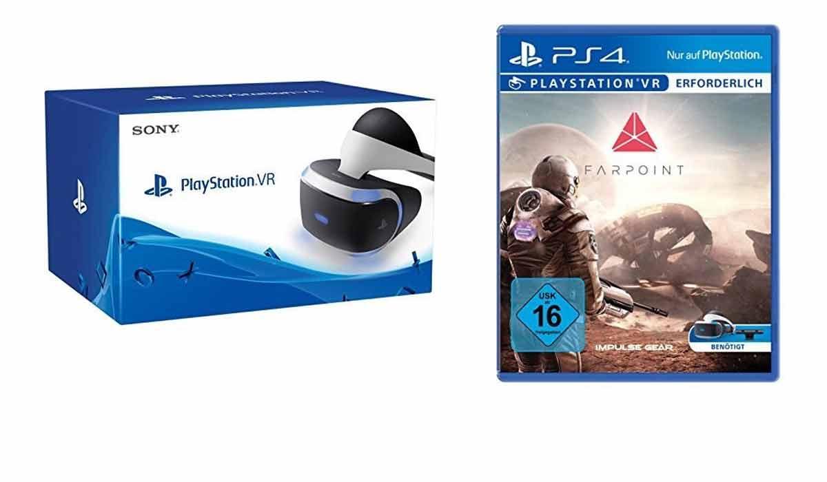 Sony PlayStation VR + Farpoint für 361,18€ (Shopto)