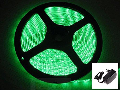 Amazon Prime SMD/LED Streifen 5m in Grün 3,29 €  mit Netzteil Waterproof